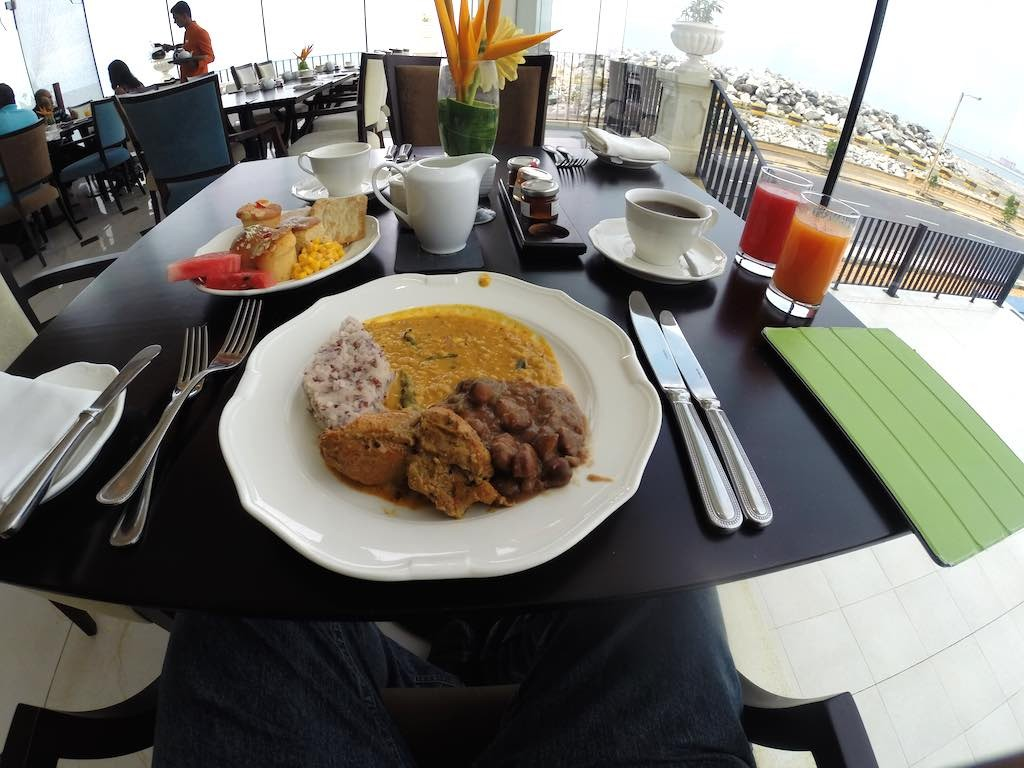 The Kingsbury, Colombo Sri Lanka - Breakfast at the Harbour Court