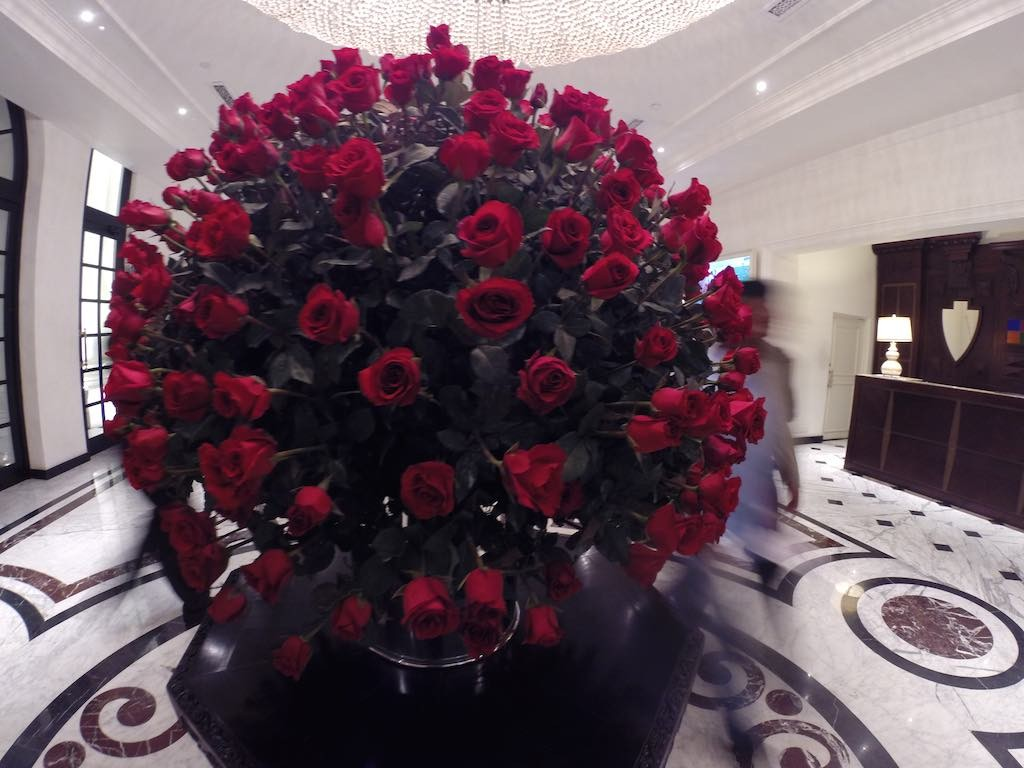 The Kingsbury, Colombo, Sri Lanka - Roses in The Lobby
