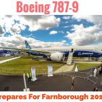Boeing 787-9 Flying Pre-FarnBorough 2014