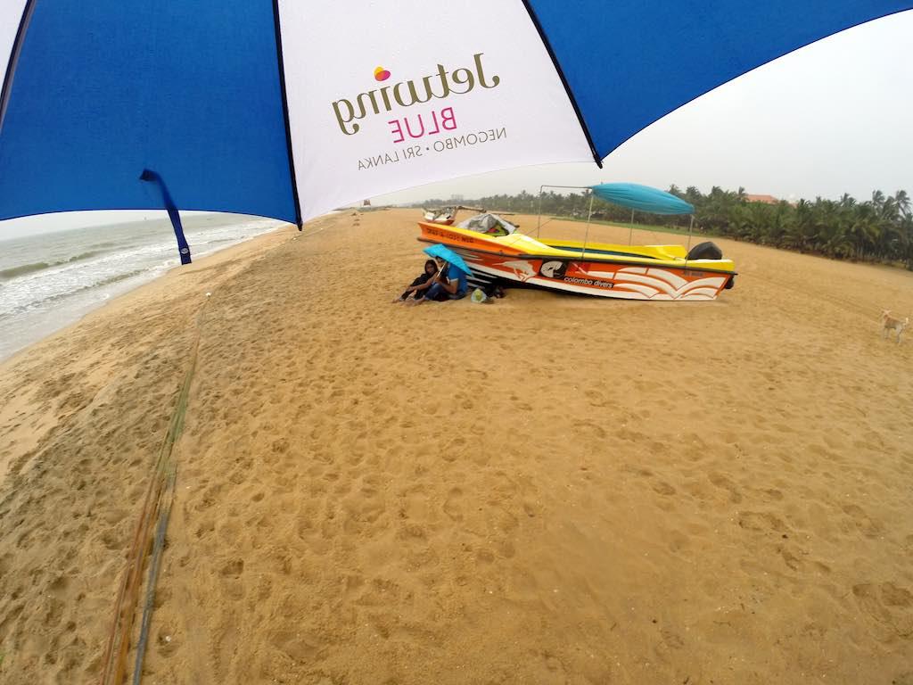 Love in Sri Lanka: It's A Little Different - Hanging on Negombo Beach