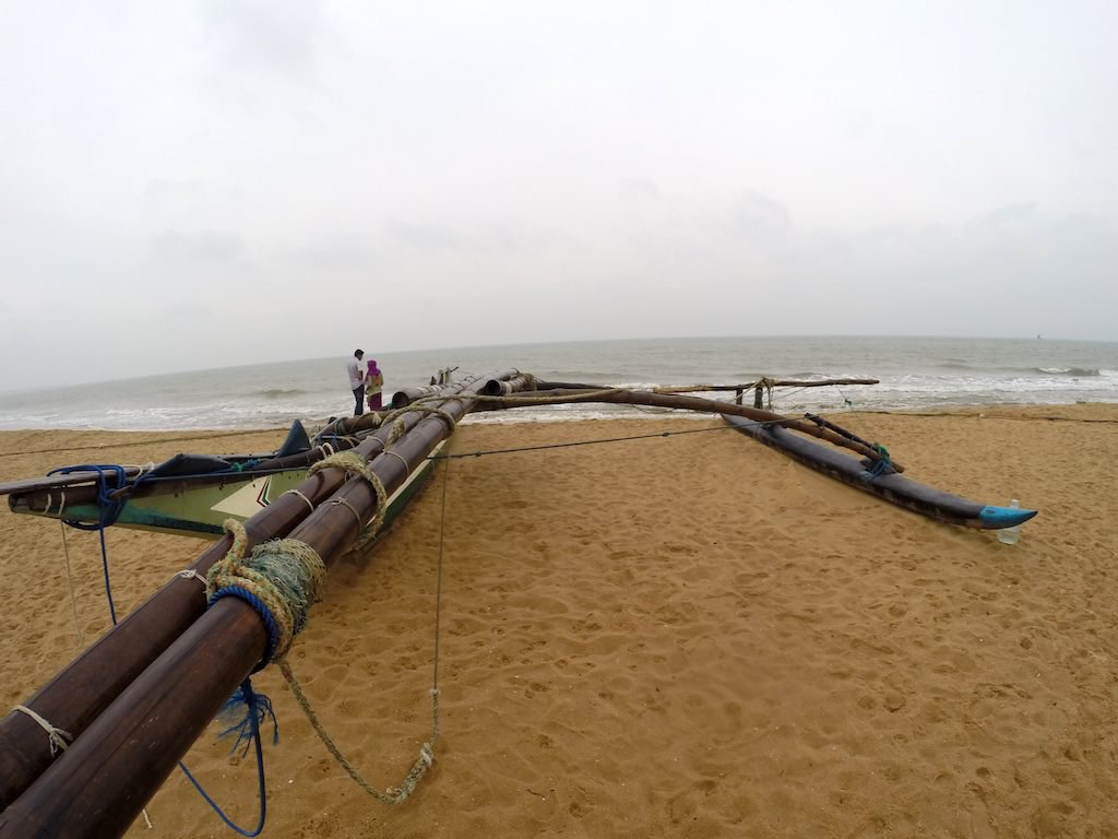 Love in Sri Lanka: It's A Little Different - Hanging on Negombo Beach