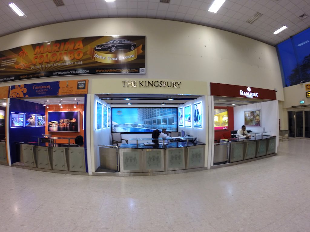 The Kingsbury, Colombo Sri Lanka's Welcome  Desk at the Colombo International Airport