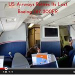 US Airways Boeing 767-200ER Last Flight