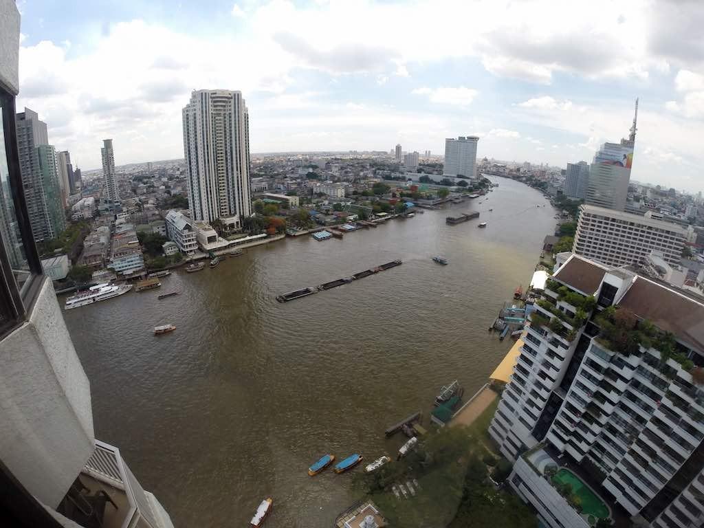 Shangri-La Bangkok - Horizon Club Lounge View