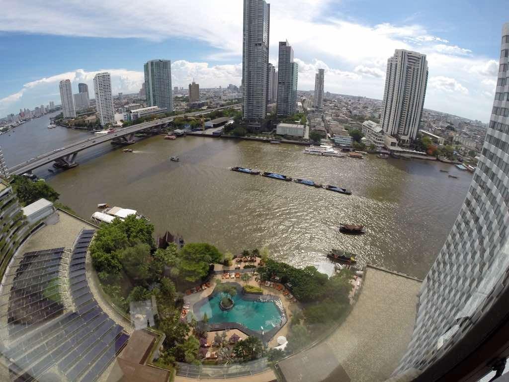 Shangri-La Bangkok - Room View of the Chao Phraya River