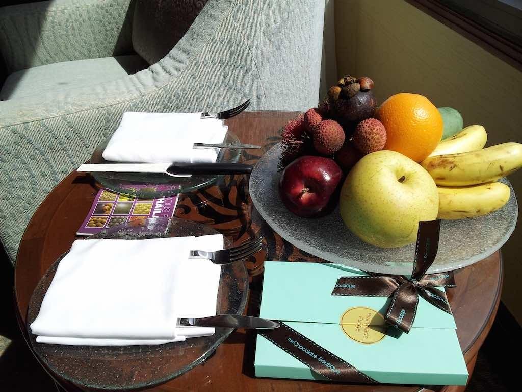 Shangri-La Bangkok - Welcome Room Gift