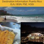 Destination Information Puerto Rico