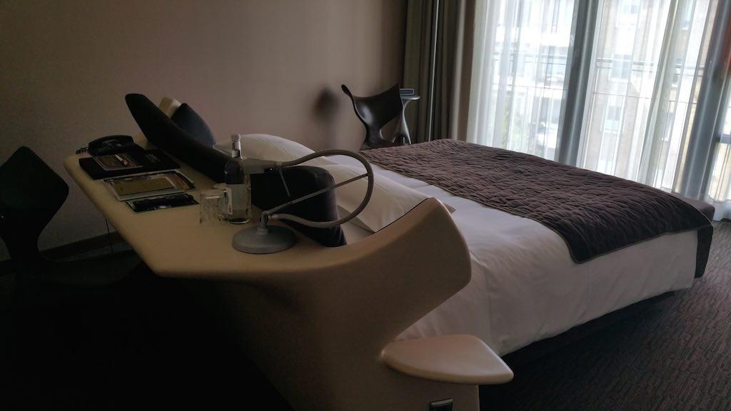 Bedroom at the EAST Hotel Hamburg, Germany