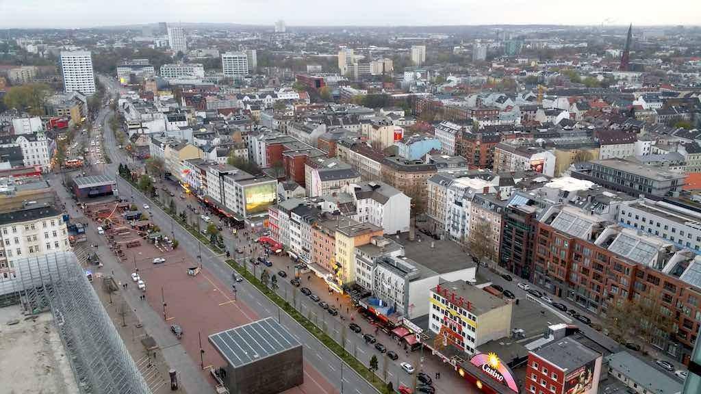 The Reeperbahn Gets Readyin Hamburg, Germany