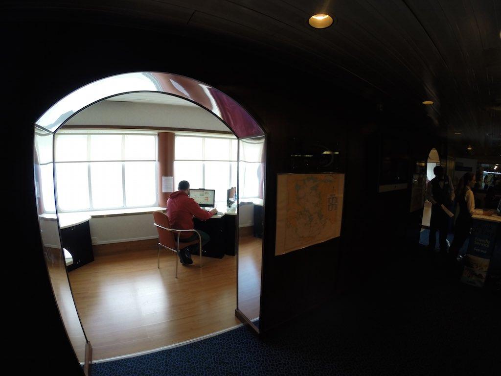 Celestyal Cruises Louis Olympia Computer Room