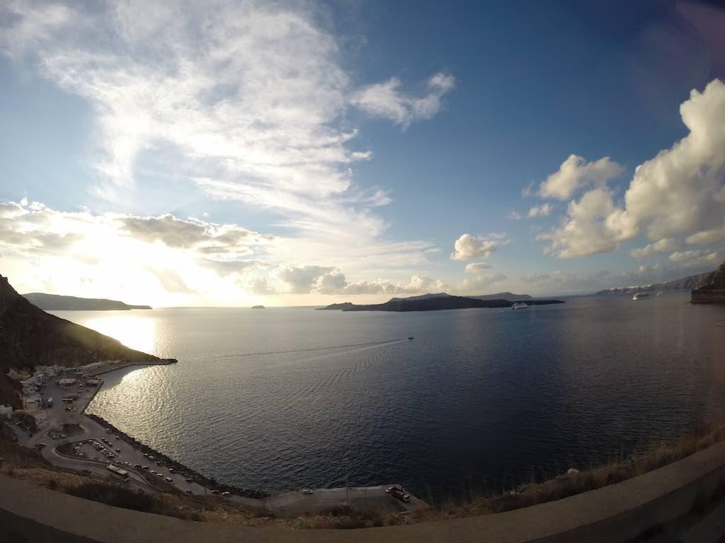 Celestyal Cruises Louis Olympia Santorini Harbour