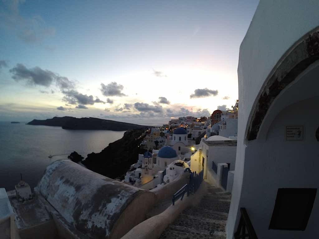 Celestya lCruises Louis Olympia Santorini View