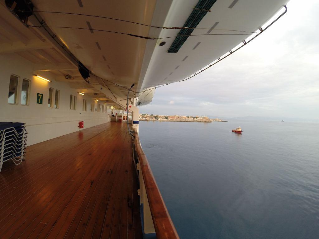 Celestyal Cruises Louis Olympia Ship Deck
