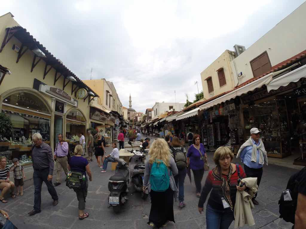 Celestyal Cruises Louis Olympia Shopping in Rhodes
