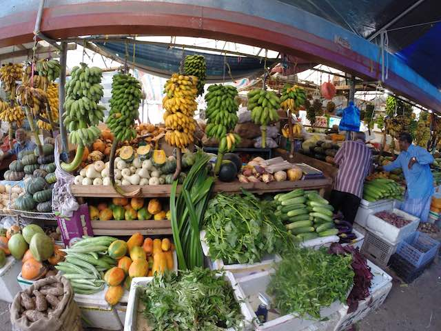 Fruits and Vegetables at the Colombo, Sri Lanka Market