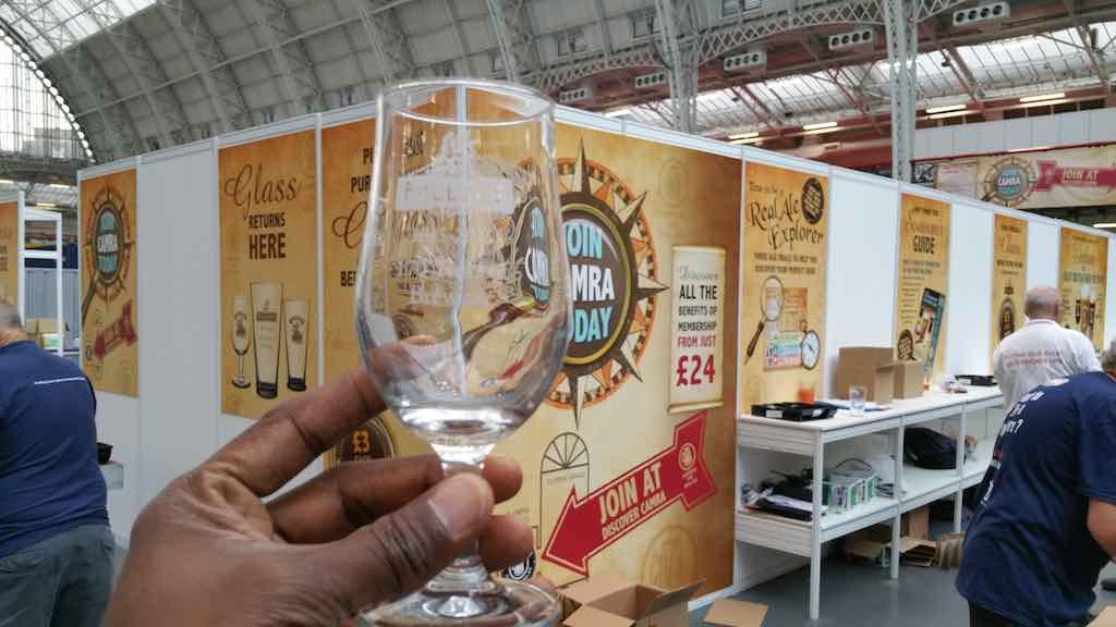 Great Beer Festival Beer Glass