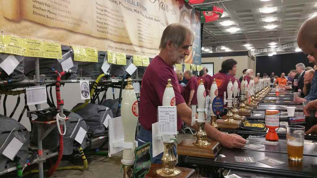 Great Beer Festival Beer pumps