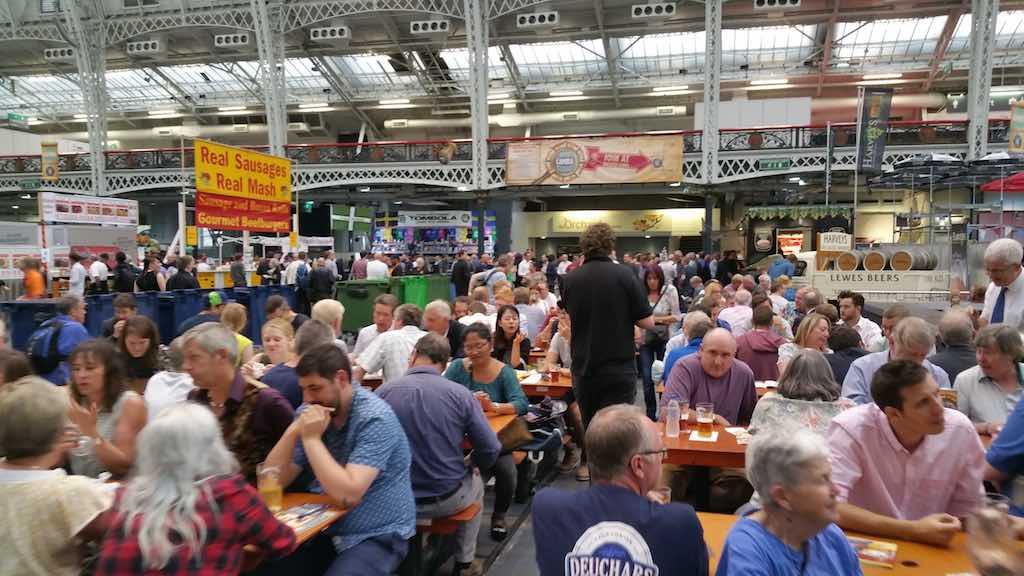 Great Beer Festival - Food - People Eating