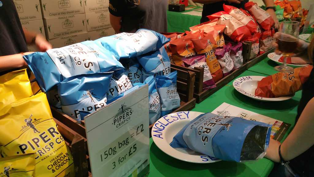 Great Beer Festival Food Pipers Crisps