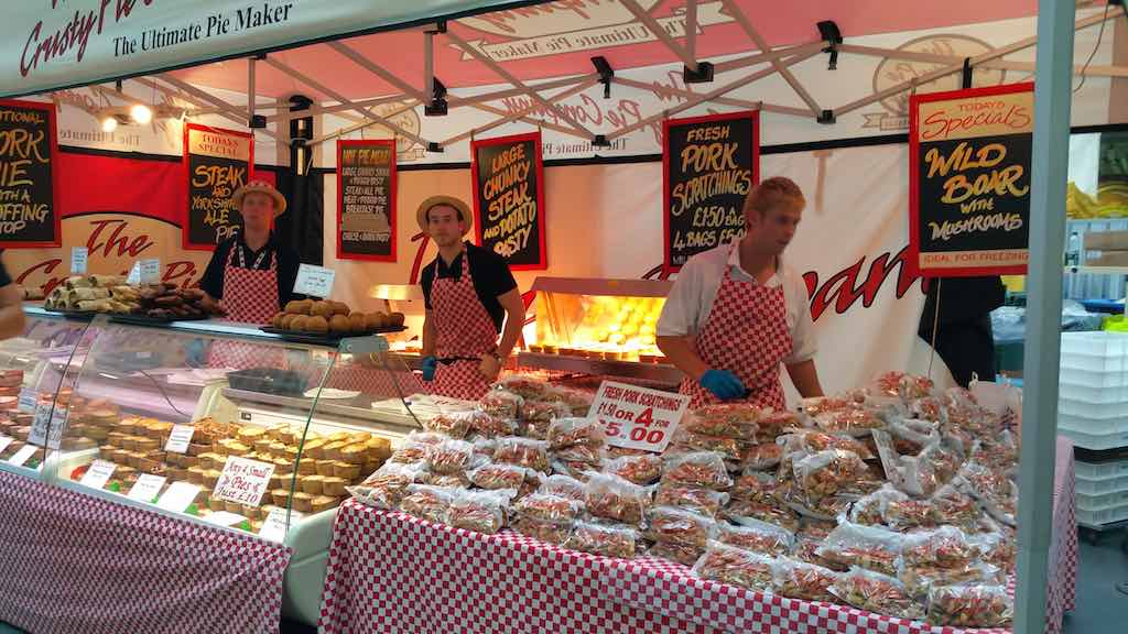 Great Beer Festival Food Pork Scratchings