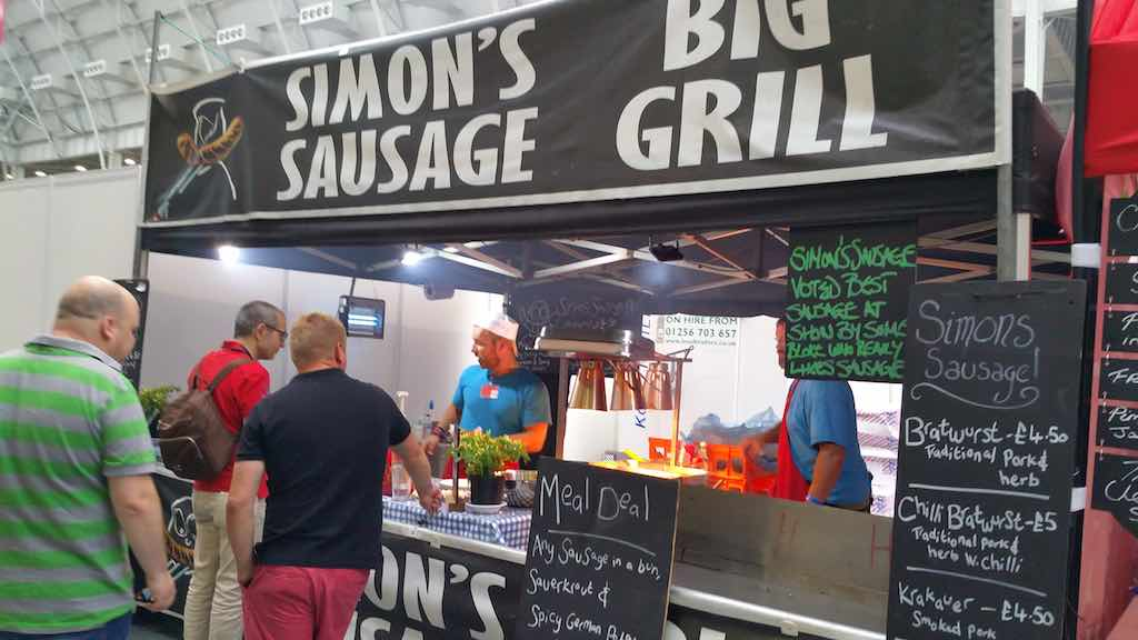 Great Beer Festival Food Simons Sausage