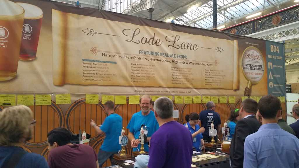 Great Beer Festival Lode Lane
