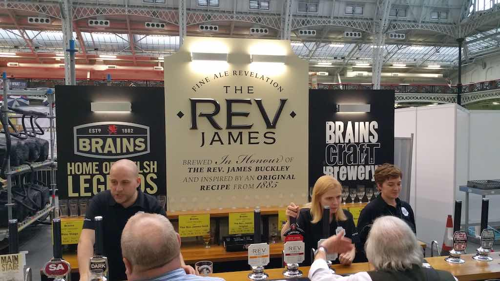 Great Beer Festival The REV James