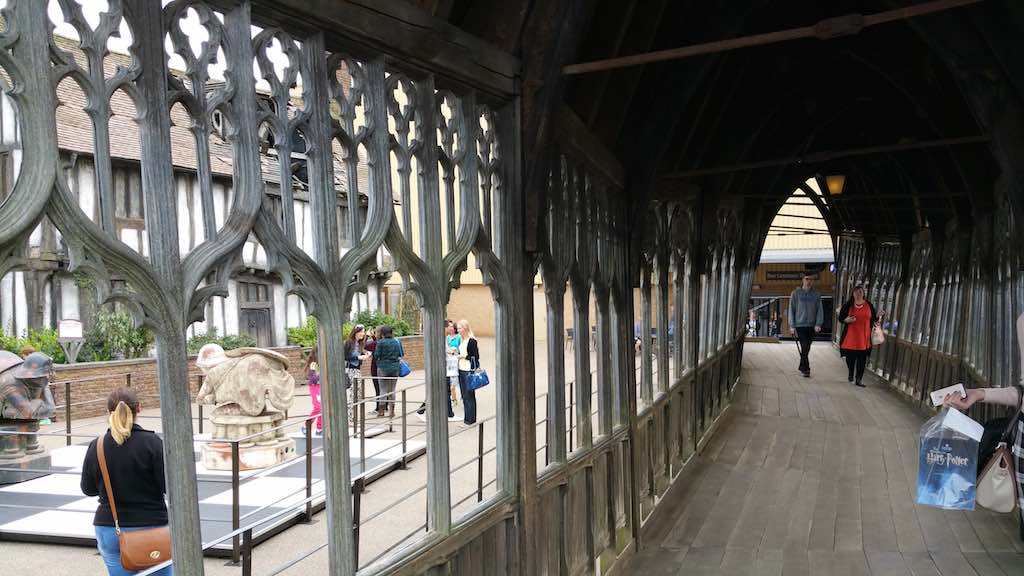 Warner Bros. Studio Tour London - The Making of Harry Potter - Model of Hogwarths Castle Bridge