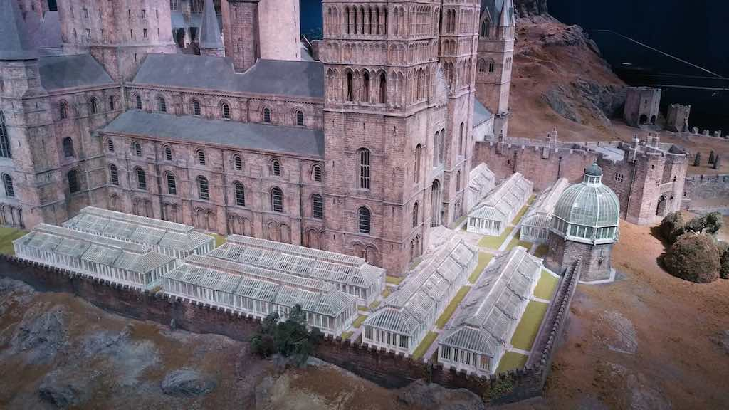 Warner Bros. Studio Tour London - The Making of Harry Potter - Model of Hogwarts Castle