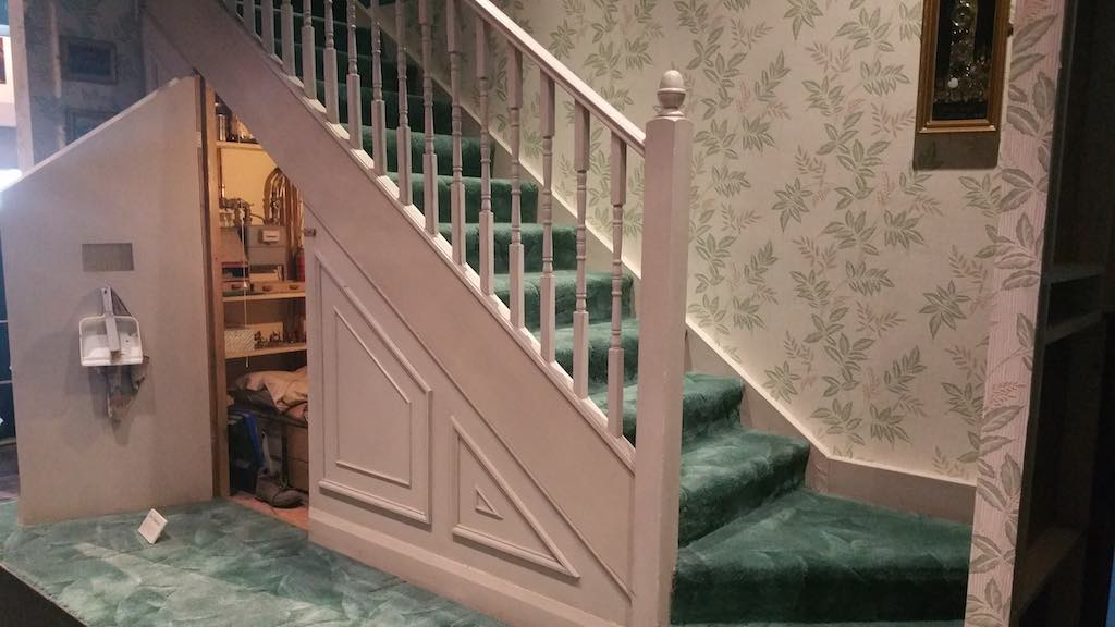Warner Bros. Studio Tour London - The Making of Harry Potter - Room Under The Stairs