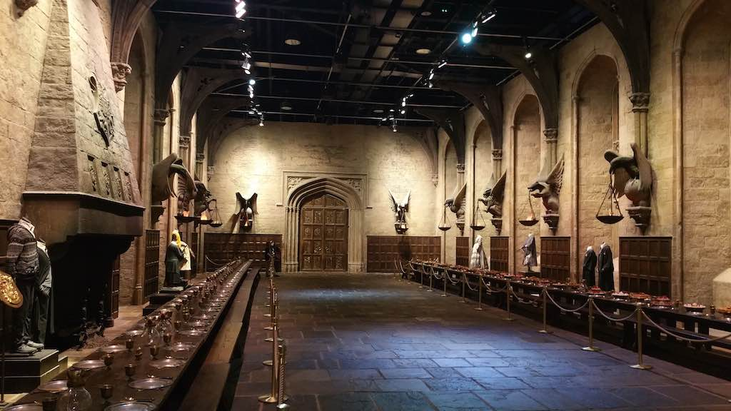 Warner Bros. Studio Tour London - The Making of Harry Potter - The Great Hall