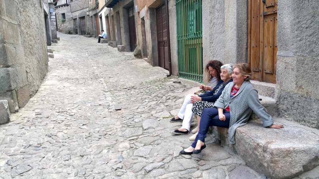 Castilla y Leon - La Alberca Three Generations