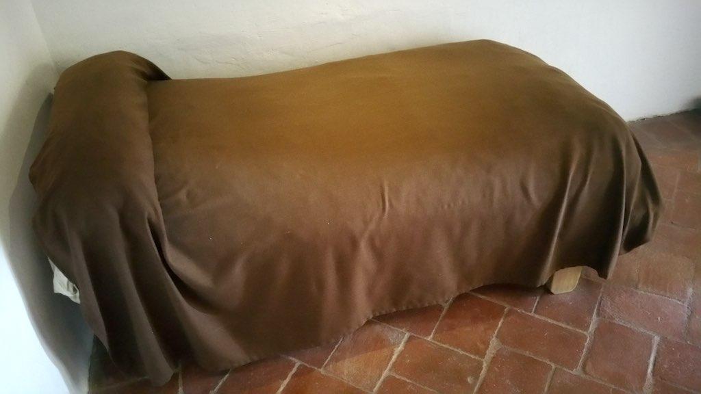 Castilla y Leon Medina del Campo Santa Teresa's Bed