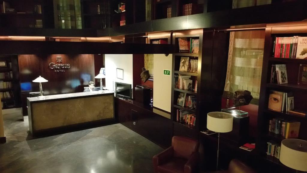 Castilla y Leon - Valladolid Hotel Gareus' Lobby