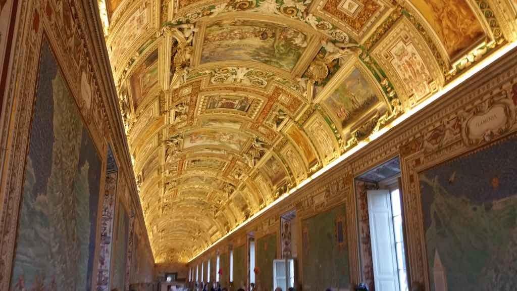 Vatican City Ceiling