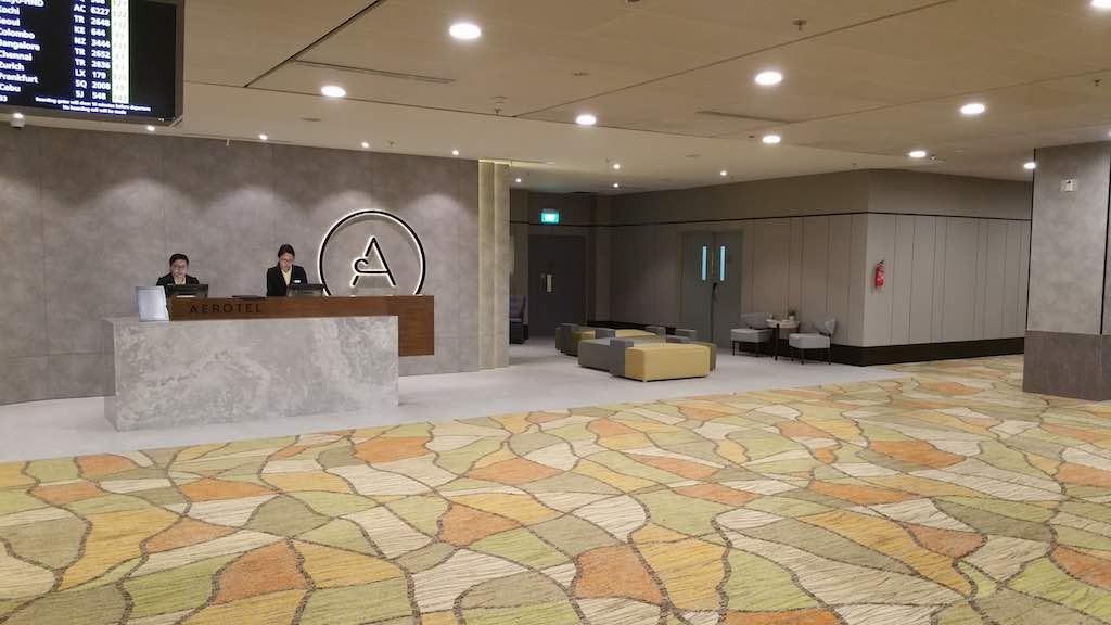 Aerotel Singapore Changi Airport Transit Hotel - Frontdesk