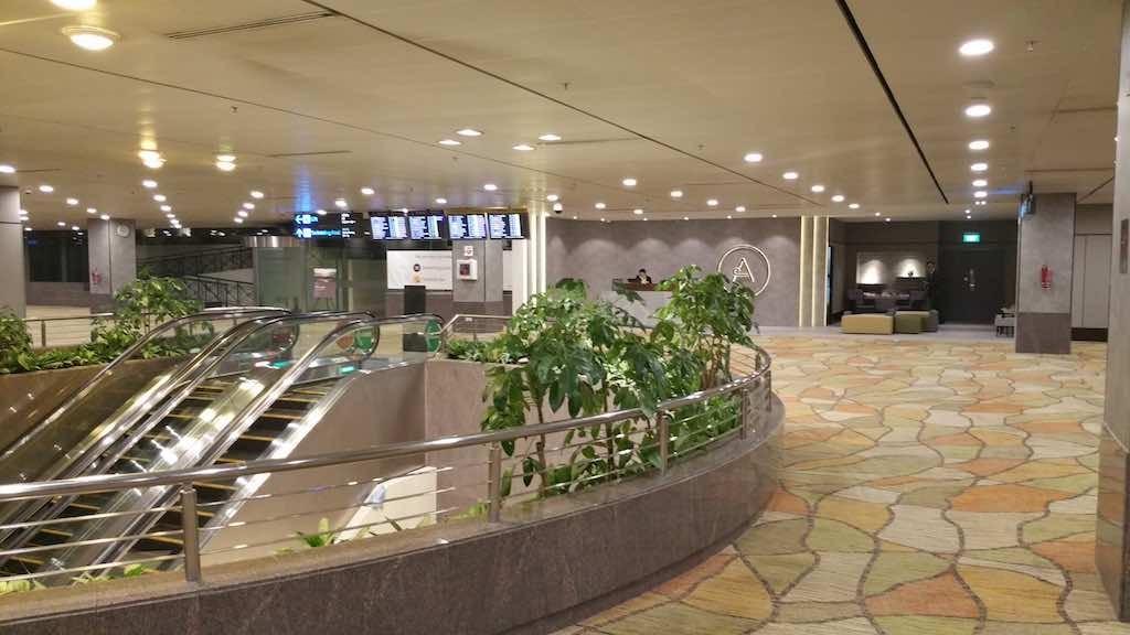 Aerotel Singapore Changi Airport Transit Hotel - Outside Hallway