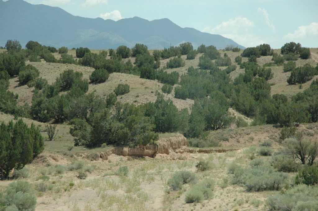 Along the way from Albuquerque to Santa Fe