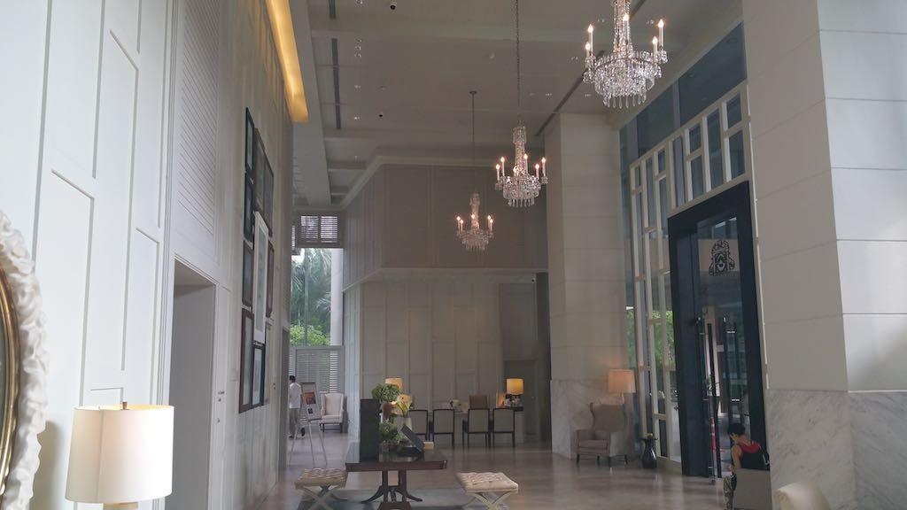 Oriental Residence Bangkok Lobby