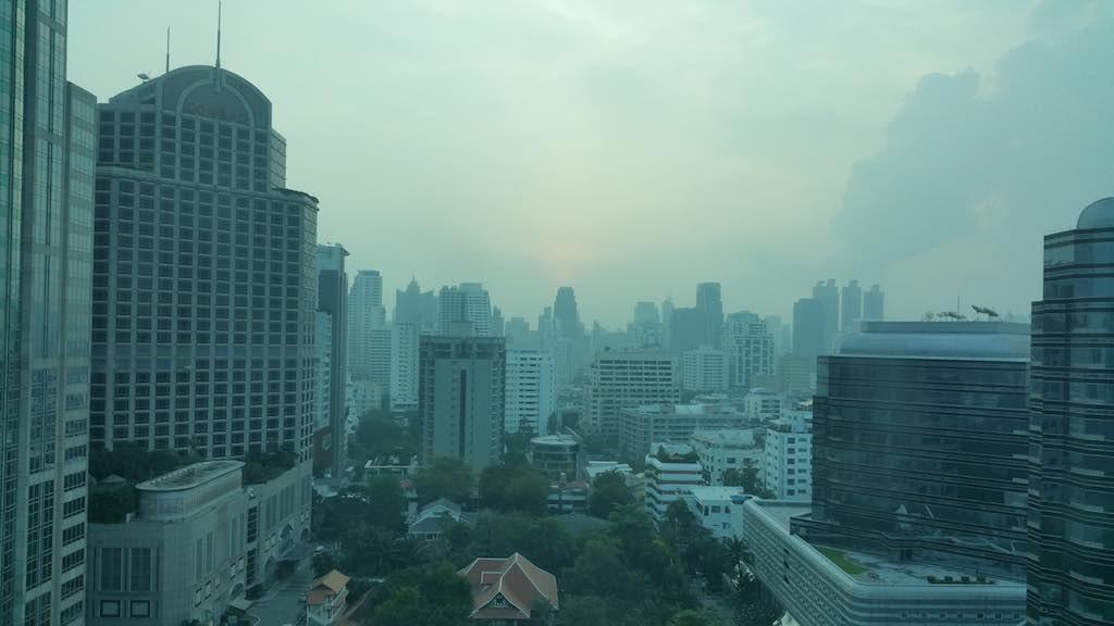 Oriental Residence Bangkok View