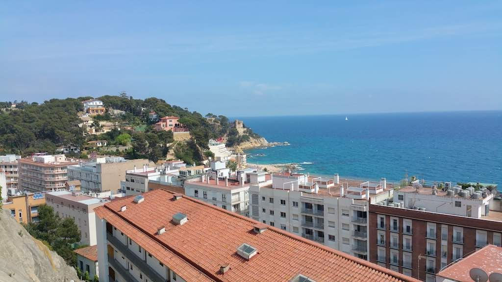 Lloret de Mar Beach View