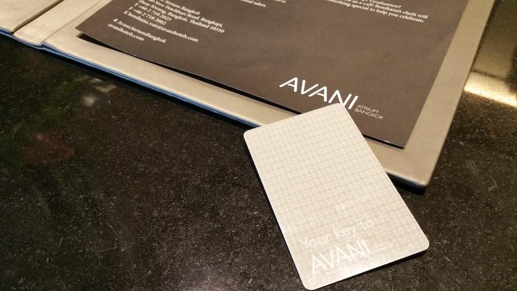 Avani Atrium Bangkok Room Key