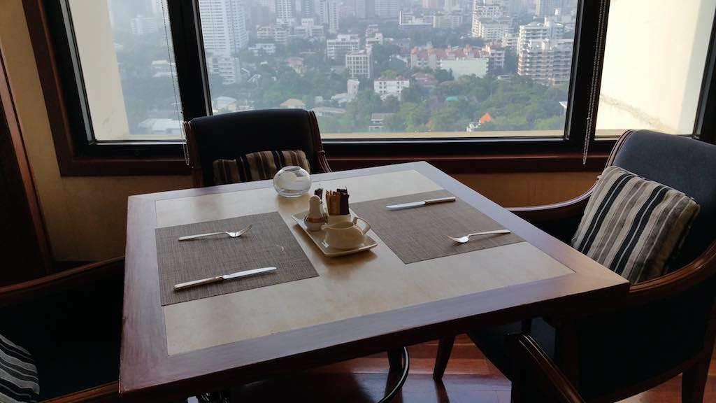 Lounge Dining Table Avani ATRIUM Bangkok