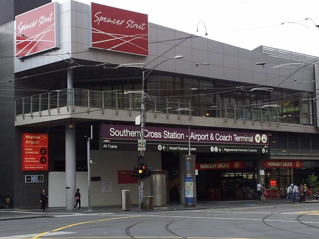 Southern Cross Station - Melbourne Vic Australia
