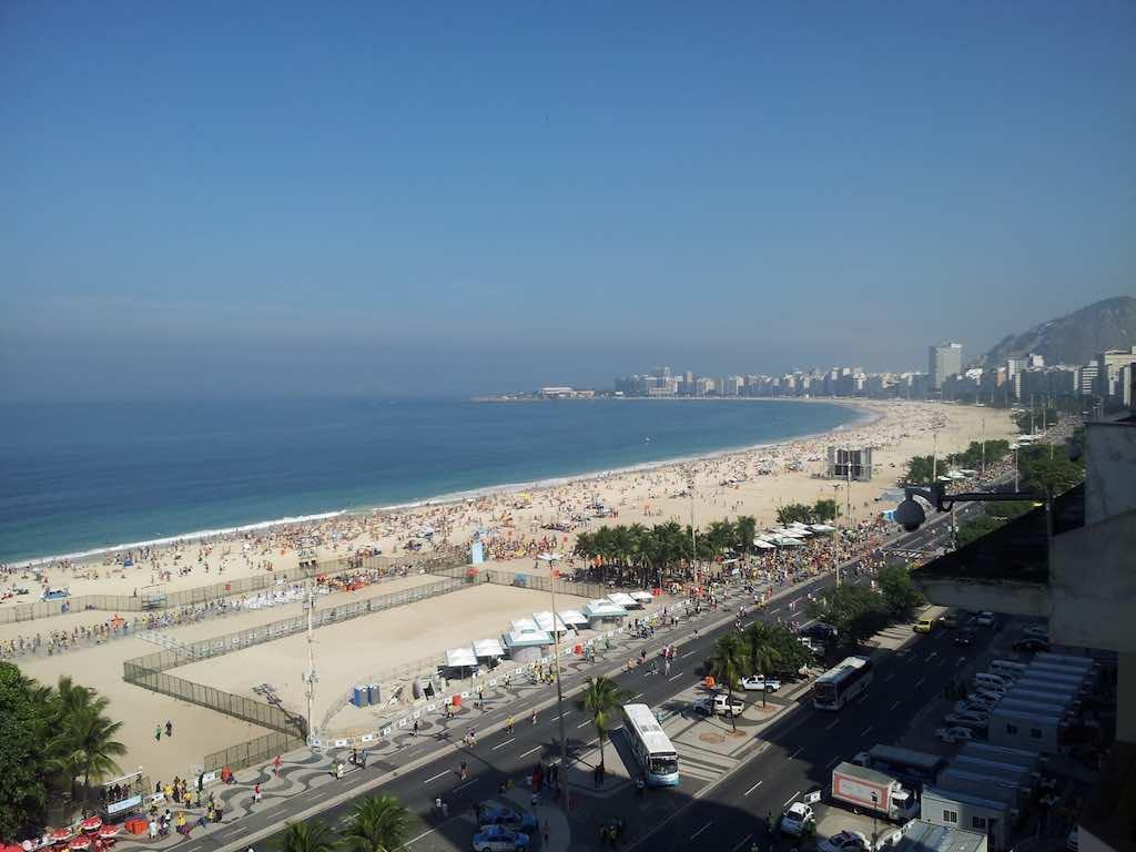 Copa Cabana Beach, Brazil