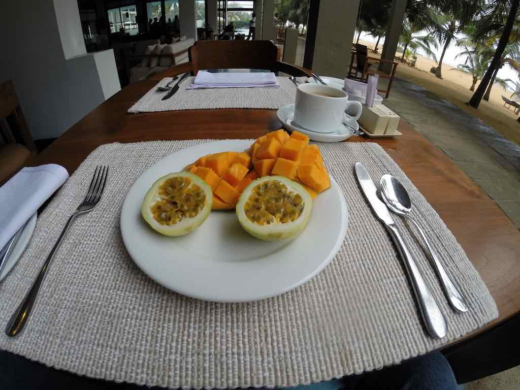 Jetwing Blue Negombo, Sri Lanka - Fruits at breakfast