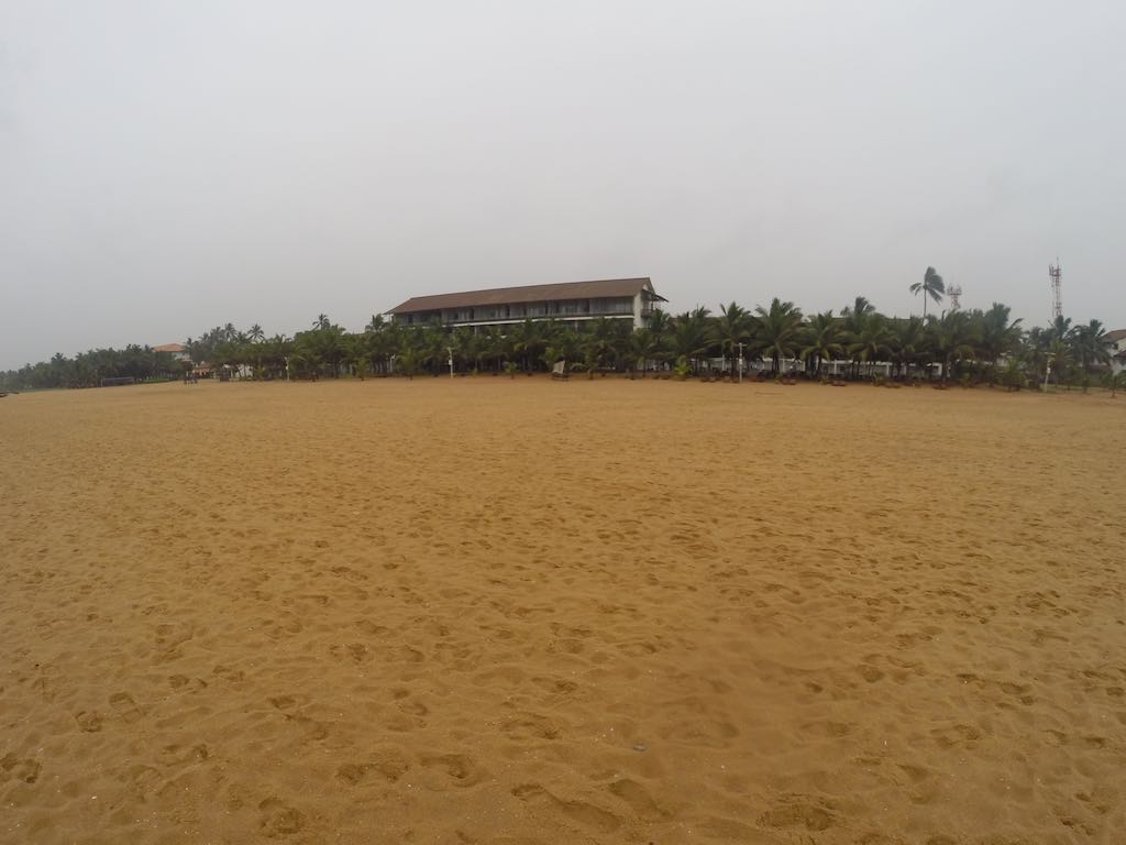 Jetwing Blue Negombo, Sri Lanka - The view from the beach