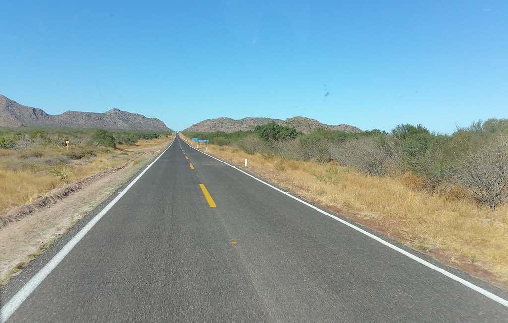 Villa del Palmar Loreto - The road to Loreto, Mexico
