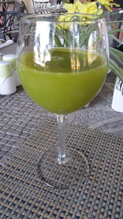 Villa del Palmar Loreto, Mexico - green juice