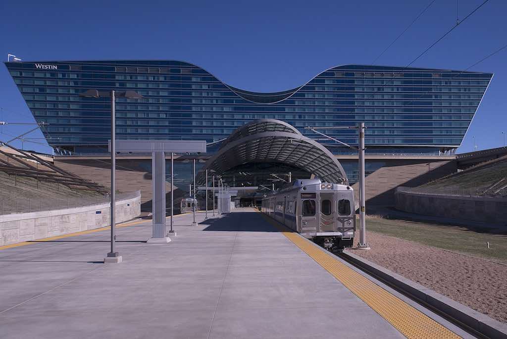 Denver Airport Station. Copyright ©The Regional Transportation District. All rights reserved.